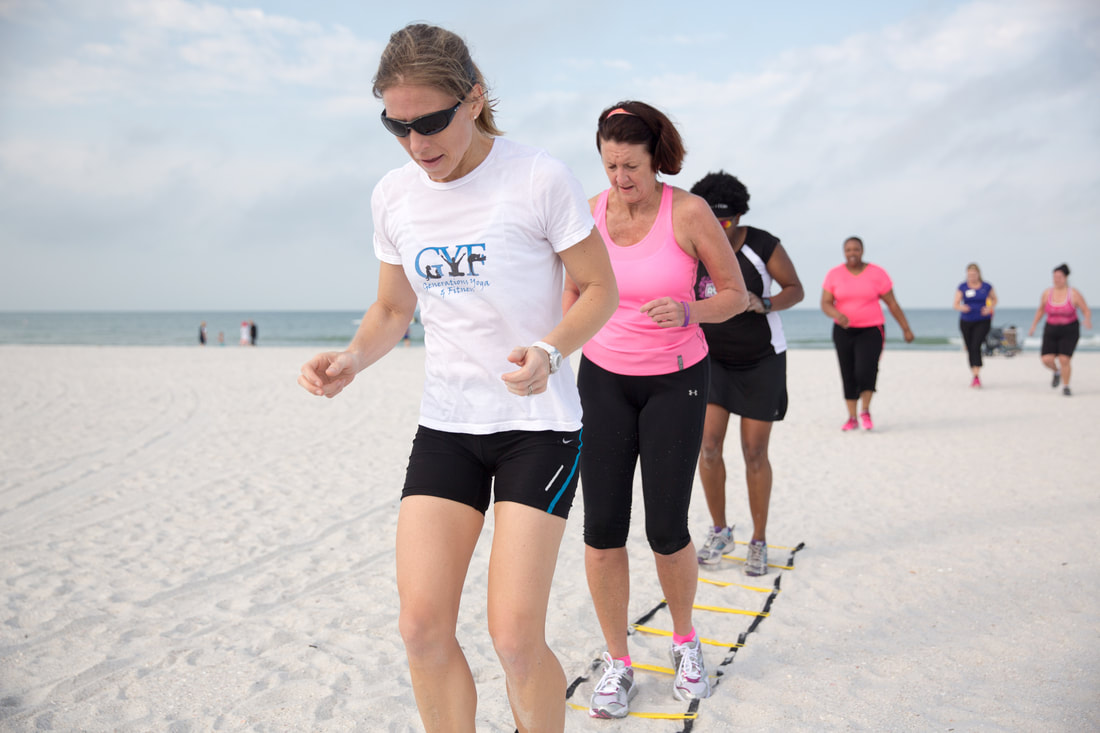 Beach Boot Camp, Fitness and Yoga Retreat, Fitness Retreat, Fitness Vacation, St. Pete Beach, Florida, Hen Holiday